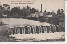 ILLE ET VILAINE - 661 - MONTAUBAN DE BRETAGNE - Le Moulin Et Le Déversoir De Challou ( - Timbre à Date De 1907 ?) - France