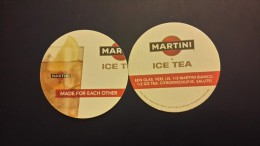 Beer Mats-MARTINI Ice Tea-new - Sous-bocks