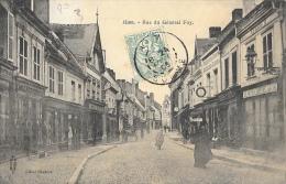 Ham (Somme) - Rue Du Général Foy - Cliché Haubrex - Edition Royer - Ham