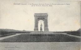 Proyart (Somme) - Le Monument élevé Aux Enfants De Proyart Morts Pour La Patrie - Edition Tourneur - Monuments Aux Morts