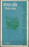 Nepal - 1980 Tourism 1st Dau Folder   SG 406-8  Sc 385-7 - Nepal