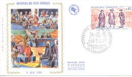 FDC -  Enveloppe 1er Jour 8 MAI 1971 - 78 VERSAILLES - Ouverture Des Etats Généraux - 1970-1979
