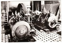 Pockau: Liegende-Verbund-Dampfmaschine (R. Raupach, Görlitz, 1902)  - VEB Kistenwerk -  Dampfmaschinen In Der DDR - Ansichtskarten