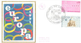 FDC -  Enveloppe 1er Jour 8 MAI 1971 - 67 STRASBOURG - EUROPA - 1970-1979