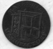 Condor Token.Avers:Haverhill Manufactory.Revers:Pro Bono Publico.Tranche:Payable à John Finchams Suffolk.1794 - Professionnels/De Société