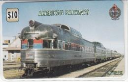 American Railways - Unitel Prepaid Card - Treni