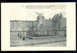 Cpa  Du 79 Coulonges Sur L' Autize Monument Aux Morts De La Guerre  JA15 23 - Coulonges-sur-l'Autize