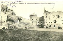 Sarzeau. L'intèrieur Des Ruines Feodales Du Chateau De Suscinio. - Sarzeau