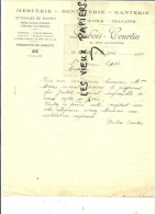 08 - Ardennes - GIVET - Facture DUBOIS-COURTIN - Mercerie - Bonneterie - Ganterie – 1937 - REF 13 - France