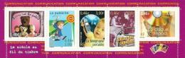 France 2001 Bande ** Issue Du Feuillet Y&T No 35 (timbres Y&T Nos 3372-3376) - Blocs & Feuillets