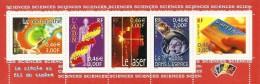 France 2001 Bande ** Issue Du Feuillet Y&T No 39 (timbres Y&T Nos 3422-3426) - Blocs & Feuillets