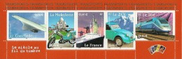 France 2002 Bande ** Issue Du Feuillet Y&T No 47 (timbres Y&T Nos 3471-3475) - Blocs & Feuillets