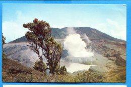 R087, Costa Rica, Volcan Poas, Volano, 190, Circulée - Costa Rica