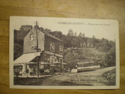 Comblain Au Pont (Liege) Restaurant Des Grottes Prop H.Soyer - Tenhaaf  // Ca 19?? - Comblain-au-Pont