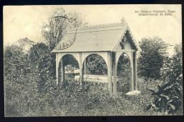 Cpa Antilles Saint Christophe Et Niévès St Kitts Sir Thomas Warner's Tomb -- Middle Island   JA15 23 - Saint-Christophe-et-Niévès