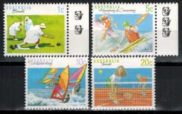 AUSTRALIEN 1990 - MiNr: 1139+1182+1183+1184 Sport   **/ MNH - 1990-99 Elizabeth II