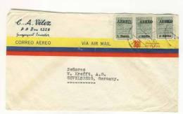 Ecuador Brief nach Deutschland