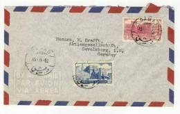Syrien Brief nach Deutschland 1952