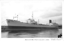 """¤¤  -  Carte-Photo Du Pétrolier  """" BEAUCE """" En 1953   -   ¤¤ - Pétroliers"""