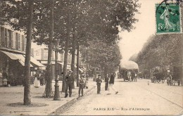 75  PARIS XIXe Rue D'Allemagne - Arrondissement: 19