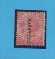 MALAISIE - SELANGOR  - Yvert  N° 6 K - Selangor