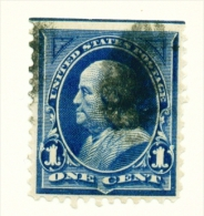 USA  -  1894  Franklin  1c  Used As Scan - Used Stamps