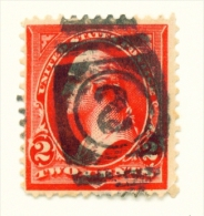 USA  -  1894  Jefferson  2c  Used As Scan - Used Stamps