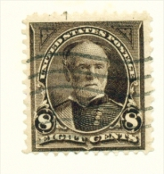 USA  -  1894  Sherman  8c  Used As Scan - Used Stamps