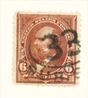 USA  -  1894  Garfield  6c  Used As Scan - Used Stamps