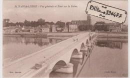 21 Saint-Jean-de-Losne - Cpa / Vue Générale Et Pont Sur La Saône. - France