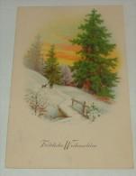 AK  Fröhliche  Weihnachten/ Künstler-Karte. ( C 14  ) - Noël