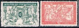 Moçambique, 1918, # 3/4, Imposto Postal, MH - Mozambique