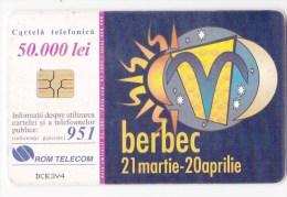 Romania   , Phonecards   , 2001 , Zodiac ,    Used - Sternzeichen