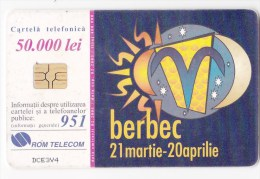 Romania   , Phonecards   , 2001 , Zodiac ,    Used - Zodiaco