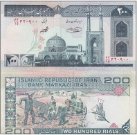 Iran - 200 Rials UNC Ukr-OP - Iran