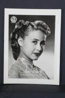 Old Trading Card/ Chromo Topic/ Theme Cinema/ Movie -Spanish Advertising - Metro Goldwyn Mayer Actress: Jane Powell - Cromos