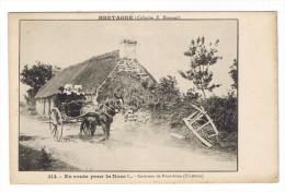 RIEC SUR BELON PONT AVEN LES ENVIRONS  EN ROUTE POUR LA NOCE - France