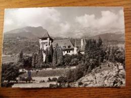 Carte Postale Suisse Sierre Chateau De Pradegg Oblitéré 1966 - VS Valais