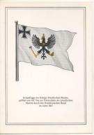 Nr.  3792,  AK  Kriegsflagge Der Königlich Preußischen Marine - Warships