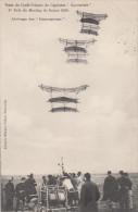 TRAIN DE CERFS VOLANTS DU CAPITAINE SACONNEY - 1er PRIX DU MEETING DE REIMS 1910 - ARRIMAGE DES REMORQUEURS - Aviation