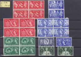 LOT   GRANDE-BRETAGNE  NEUFS**      MERITE INTERET  COTE 980€ - Collections (sans Albums)