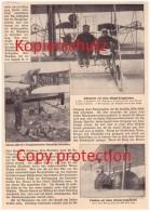 Original Zeitungsausschnitt - 1911 - Wright-Kriegsdrachen , Tabuteau Farman- Doppeldecker , Antoinette !!! - Fliegerei