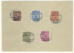 Provinz Sachsen gestempelt auf Umschlag