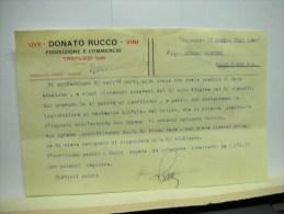 TREPUZZI  -- LECCE  -- DONATO  RUCCO  -- VINI - Italia