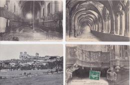LOT  DE  9   CPA  &  3  CPSM  DE  LA CHAISE  DIEU  (43 )      - Toutes Scanées - Cartes Postales