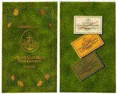 CHAMPAGNE - Ponsardin - Veuve Clicquot - Alcolici
