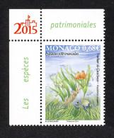 Monaco 2015 - Yv N° 2959 ** - LES ESPÈCES PATRIMONIALES : L´HERBIER DE POSIDONIE - Unused Stamps