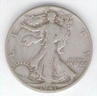 STATI UNITI HALF DOLLAR 1941 AG SILVER - Emissioni Federali