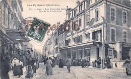 (64) Pau - Rue De La Préfecture - Nouvelles Garleries - Bon état - 2 SCANS - Pau