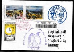 ANTARCTIC,CZECHOSLOWAKEI, NELSON ISLAND, Over Base FREI,REGISTRED 1997  !! Look Scan 3.12-07 - Antarctische Expedities